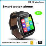 De nieuwste Androïde Slimme Telefoon van het Horloge Bluetooth met de Groef van de Kaart SIM X6