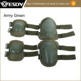 Outdoor ajustable Airsoft Tactical Protective Knee + Elbow Pads