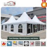 Tende di alluminio superiori del blocco per grafici con il tetto ed il muro laterale del PVC da vendere Kenia