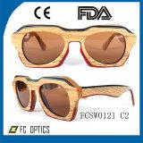 Новейшие бамбук солнечные очки Designer солнечные очки
