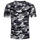 t-셔츠 디자인을 인쇄하는 남자의 Camo