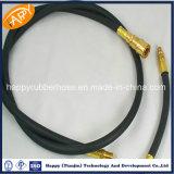 Fr857 2sc/haute pression double tresse en acier renforcé le flexible hydraulique
