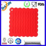 Silicone macio durável quadrado Placemat resistente ao calor