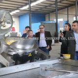 Comercial Profesional Industrial de la producción de máquinas de palomitas de maíz de la línea de procesamiento en línea para el Champiñón Caramle palomitas de maíz con sabor