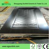 최신 판매 높은 광택 있는 PVC 안쪽 문 피부