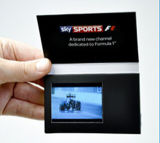 Erfinderische Video Visitenkarte mit 2.4inch Screen, Customized Printing