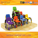 Kind-Möbel Plastiktisch/Desk&Chair für Schule (IFP-020)