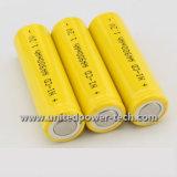 Bateria Ni-CD recarregável de níquel cádmio 1.2V 900mAh