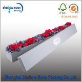 Kundenspezifischer handgemachter runder Blumen-Verpackungs-Kasten (QYZ385)
