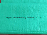 اللون الأخضر جلّيّة 25 [كغ] بوليبروبيلين يحاك حقيبة