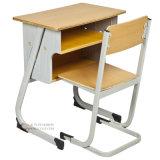 Secretária e cadeira única de mobiliário escolar de design novo (SF-05S)