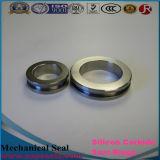Anillo Polished y de la precisión M7n G9 L tipo de silicio del carburo del anillo de cierre de Ssic Rbsic de DA T