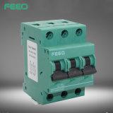 De Stroomonderbreker van Feeo 4p 63A 1000V WiFi gelijkstroom