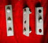Braçadeira apropriada elétrica do parafuso do dobro do cabo da braçadeira de fio da ferragem da linha eléctrica