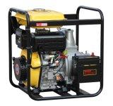 4 pouces de la pompe à eau haute pression Diesel avec une grande banque de carburant et de démarrage électrique (DP40E)