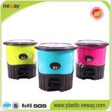 De Promotie Bak van uitstekende kwaliteit van het Afval van de Milieubescherming Plastic (5.5L)