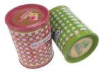 Runder Zinn-Kasten für Geschenk-Paket-Duftstoff-Paket-Zinn