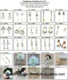 고품질 및 최신 인기 상품 925 순은 형식 귀걸이 (E6725)