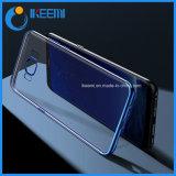 Chapado transparente más reciente caso del teléfono móvil de Samsung, iPhone, Huawei