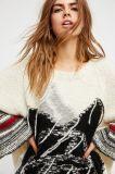 Супер мягкий свитер Knit отличая конструкцией Rose