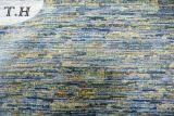 顧客への国のための2016年の海洋カラー高級なシュニールのジャカードファブリック