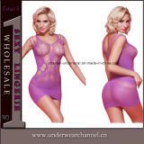 Violet femmes sexy Seamless Fantasy Baby Doll Lingerie transparente