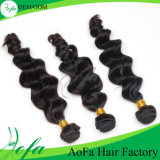 良い技量ボディ波の人間の毛髪の織り方