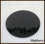 Indicador de vidro cerâmico preto para o mini fogão elétrico
