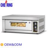 Incoraggiando tre strati sei dei cassetti della cucina del forno di gas commerciale