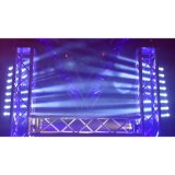 8X10W 4in1 RGBW Luz rotativa LED Beam Bar Moving Head Light