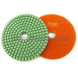 "4 "" Stone를 위한 직업적인 Diamond Wet Polishing Pads"