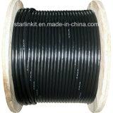 la jalea de 200pair Cat3 llenó el cable de teléfono de cobre descubierto sólido de 0.5m m