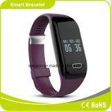 Do monitor ardente do sono do monitor da frequência cardíaca da distância do monitor da caloria do podómetro bracelete esperto