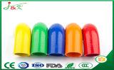 Flexibles rundes Spitze-Gleiten-Gummimetallplastikdeckel-Endstöpsel