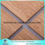 tarjeta de bambú del panel de bambú vertical de la madera contrachapada del bambú de 5m m sola