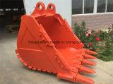 Cubeta da máquina escavadora para a máquina escavadora da esteira rolante de Hitachi