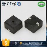 熱い販売の18ミリメートル10VスクエアSMD圧電ブザー、磁気ブザー
