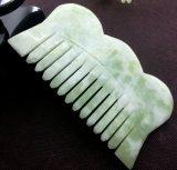 Peine del jade de Xiuyan de la alta calidad para el masaje principal