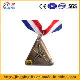 記念日のためのカスタムフットボールの金属メダル