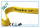 Cinghia piana 2017 dell'imbracatura della tessitura del poliestere di prezzi di fabbrica 3t