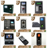 TFT LCD Biometric Fingerprint Face Recognition Time Atendimento