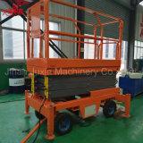 M 6-18 mois de haute élévation plate-forme hydraulique mobile de qualité supérieure table élévatrice à ciseaux utilisés dans l'entrepôt avec la CE de la certification ISO