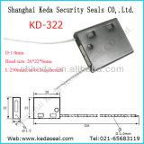 Bloqueio de cabo de alta segurança descartável Recipiente Juntas Tag string (KD-322)