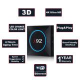 I92 bricht androider IPTV Fernsehapparat-Kasten mit Amlogic S905W 1GB ROM 4K DES RAM-/8gb mit Netflix 2.4G WiFi Snart Fernsehapparat-Kasten Media Player ab
