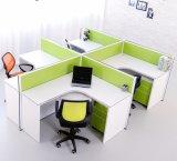 Stazione di lavoro modulare economica moderna del cubicolo della traversa dell'ufficio 4-Seater (SZ-WS663)