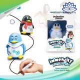 Magic Pen veículo indutivo Kids Penguin brinquedo do Robô