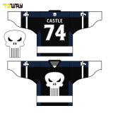 Equipo de Hockey baratos personalizados camisetas Sin mínimo