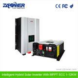 24 V de 220 voltios de 3kw de potencia híbrido solar sistema inversor con 60A MPPT