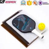 Nuevo Azul de fibra de vidrio de alta calidad y personalizada OEM en forma de panal de polímero de Paleta pelota de cuero