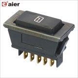 LEDとのユニバーサルDpdt 5pin Power Car Window Auto Switches